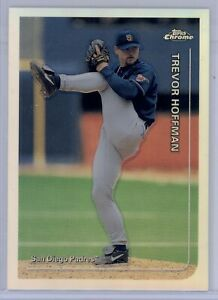 1999-Topps-Chrome-Trevor-Hoffman-Refractor-105-San-Diego-Padres-Rare-HOF