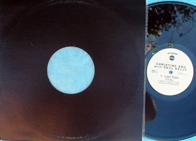 Christine Anu with Paul Kelly ORIG OZ 12 Last train (Dub mix) EX '93 Electronica