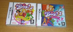 2 jeux nintendo DS - Totally spies 2 et 3 / DS Lite / Dsi / 3DS et XL