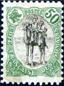 COLONIES-COTE-DES-SOMALIS-N-62-NEUF