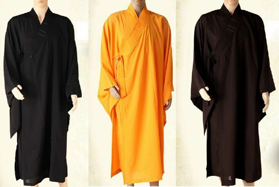 Buddhist  monks robe zen buddhism lay meditation gown HaiQing uniforms suits  sale online save 70%