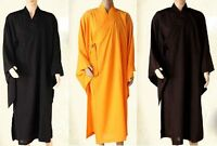 Buddhist Monks Long Robes Buddhism Lay Meditation Gown Haiqing Uniforms Suits