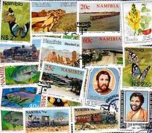 Namibie - Namibia Collections De 25 à 75 Timbres Différents