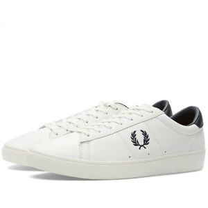 Men Fred Perry Spencer Shoes White