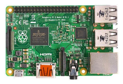 Raspberry Pi 2 Model B Quad Core CPU 900 MHz 1GB RAM Linux Desktop