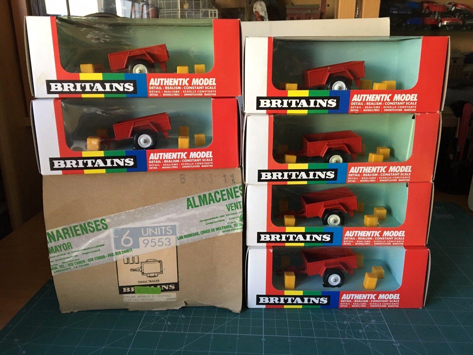 Country 1   32 6 einheiten mini - wohnwagen en la caja de fabrica (9553) ver - foto