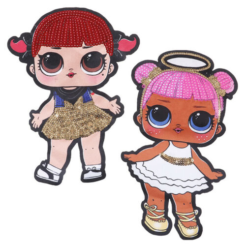 1 PC Doll Girls Sequin Printing Embroidered Children/'s Clothing Accessor JF PPUS