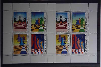 Unparteiisch X1 Europa Jugoslawien Block 38 2x Postfrisch Briefmarken