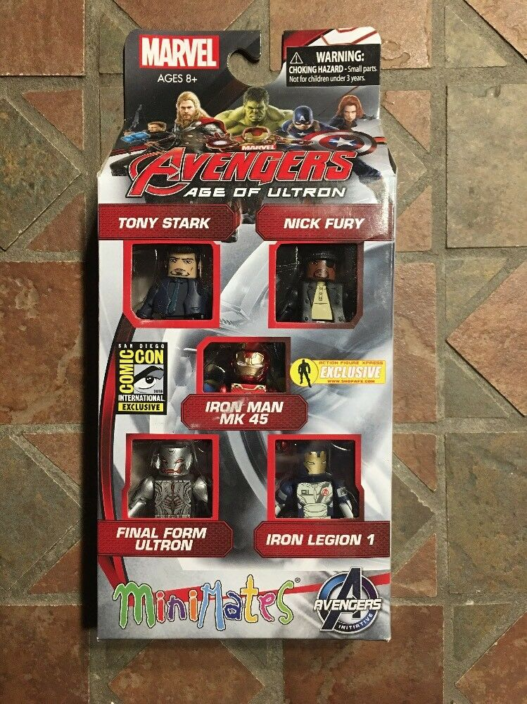 Marvel avengers minimates alter ultron box sdcc 2015 ultron eisen legion