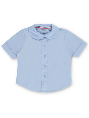 French Toast Little Girls/' Toddler S//S Peter Pan Fitted Shirt Sizes 2T - 4T