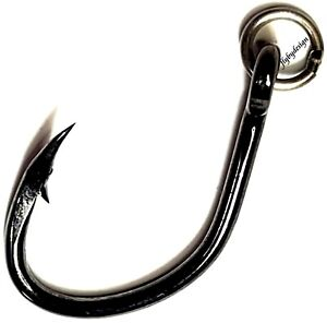 🌟 Owner size 5/0 Ringed Offshore Live Bait Fishing Hooks / Pack #5129R-151