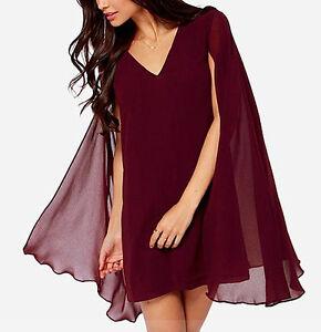 4dfde143e5327 Caricamento dell immagine in corso Vestito-Con-Mantella-Donna-Woman -Dress-with-Cape-