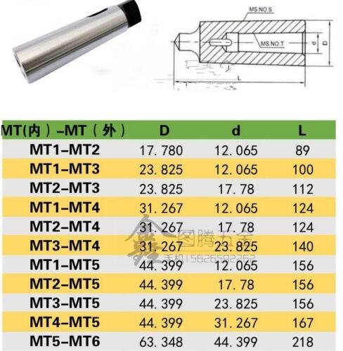 handle  MT5-MT3 bit //drill// cutter 1pcs Reducing sleeve  Morse taper shank