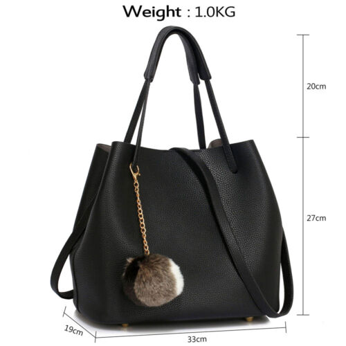 Women/'s Designer Handbags Ladies Faux Leather Fashion Hobo Satchel Shoulder Bags