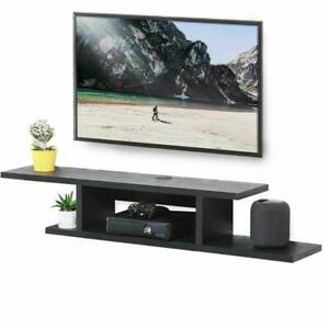 Fitueyes Wall Mounted Media Console,Floating Tv Stand ...