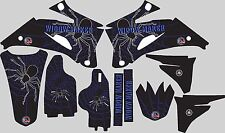 2006-2009 Yamaha YZ250f YZ450f Graphics Decal fender shrouds Widow Maker