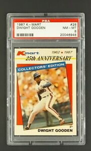 1987-K-Mart-26-Dwight-Doc-Gooden-New-York-Mets-KMart-PSA-8-NM-MT-Only-10-Higher