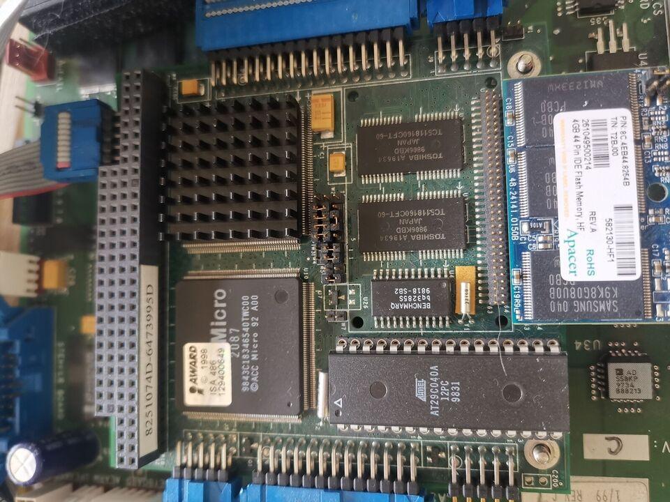 Andet mærke, Industri computer pc/104 486 100 mhz, 0.1 Ghz