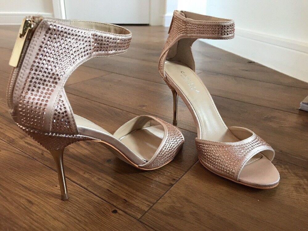 Pale Pink Kurt Geiger Carvela Stiletto Größe Evening Schuhes Worn Once. Größe Stiletto 4.5 / 37 d8e300
