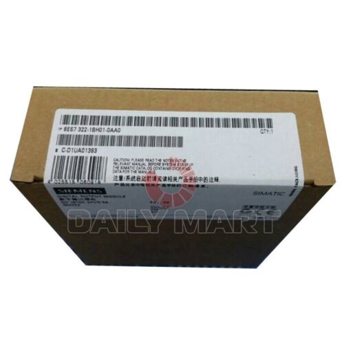 FREE SHIPPING 24VDC NEW 6ES7 322-1BH01-0AA0 SIEMENS S7-300 SM322 OUTPUT 16DO