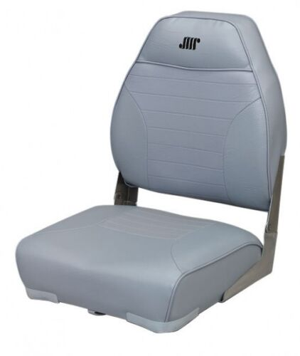 Gray Wise Seating High Back Boat Seat