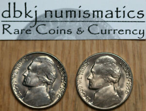 1971 D  ROLL OF 40 BRILLIANT UNCIRCULATED NICKELS