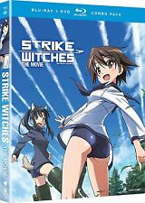 STRIKE WITCHES THE MOVIE - BLU RAY - Region A - Sealed