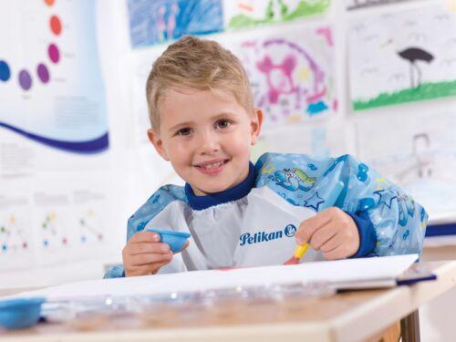 PELIKAN Malschürze Boy blau für ca 4-9 Jahre