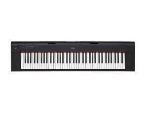 YAMAHA NP32 76 Key Digital Keyboard With Adaptor & 3 DVD Set +3YR Warranty