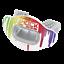 縮圖 1 - Interchange Lip Guard Mouthpiece + Printed Shield