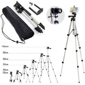 Tripod Stand Mount Holder For Digital Camera Camcorder Phone iPhone DSLR SLR UK 5060562120030