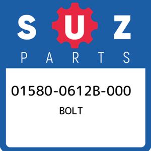 01580-0612B-000-Suzuki-Bolt-015800612B000-New-Genuine-OEM-Part