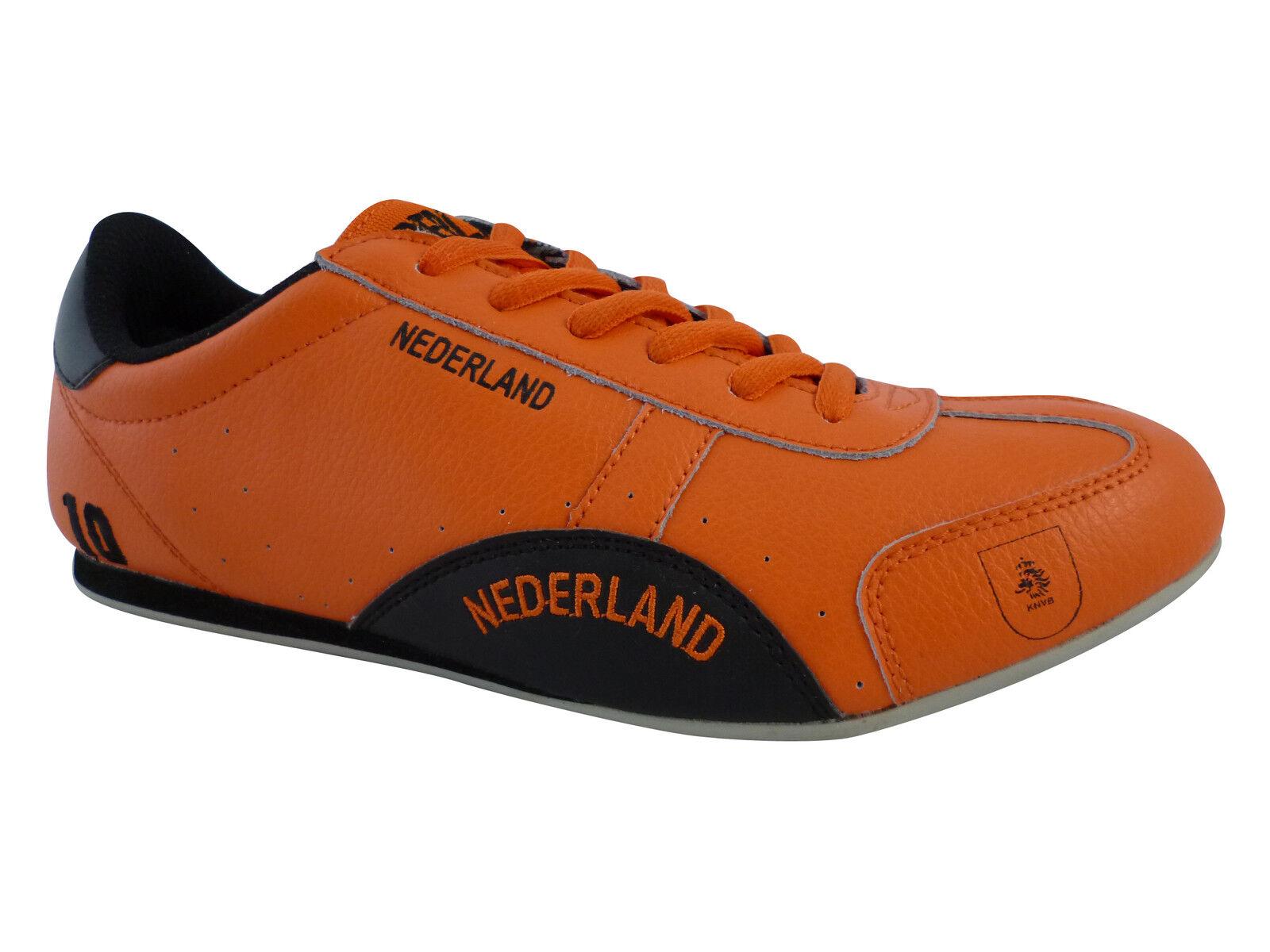 SPOOKS   NIEDERLANDE  Orange   WM  SCHUHE  LEDER  NEU  Fan Artikel  Grösse   38