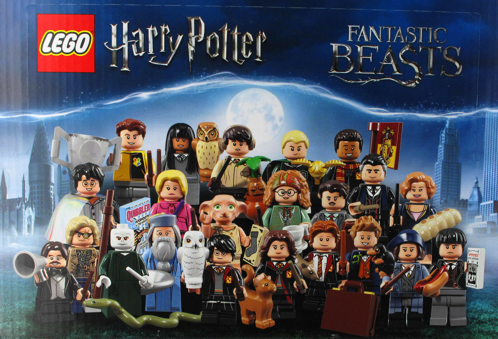 LEGO 71022 Harry Potter Fantastic Beasts Minifiguren+Sets 75951,75954,u.v.m. NEU