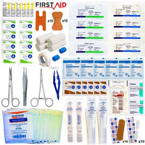 Surgical Suture Kit Basic First Aid Emergency Travel Kit Trauma Kit IFAK Bug Out