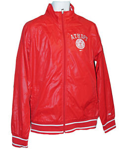 New Retro Ad Nike Track Varsity Athletics Jacket Red M Mens Dept ccUgW6n