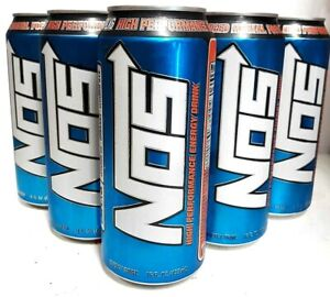 NOS High Performance Energy Drink 16oz Cans(5 Cans)