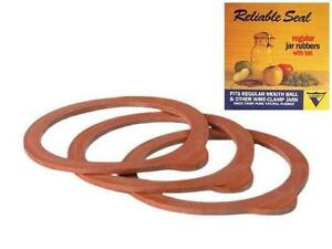 Rubber Jar Seals Regular Size Rings For Latch Wire Lids