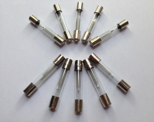 10x fusibile per microonde 5kv 0,65a 650ma hochspannungssicherunghv 5000v fuse
