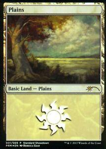 Plains-FOIL-Rebecca-Guay-Art-NM-Standard-Showdown-Promo-Magic-MTG