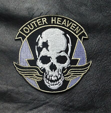 METAL GEAR SOLID OUTER HEAVEN EMBROIDERED IRON ON  PATCH