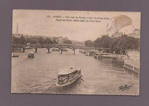 Paris - La Seine Ansicht Des Brücke Neu (H1697)