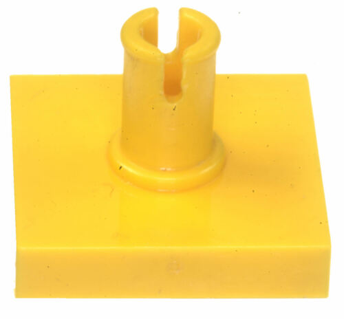 Missing Lego Brick 2460 Yellow x 4 Tile 2 x 2 with Pin