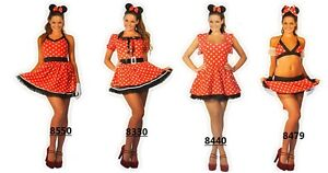 Sexy-Womens-Halloween-ladies-Minnie-Red-Mouse-Fancy-Dress-Costume-outfit-6-16