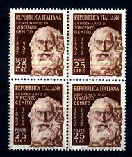ITALIA REP. - 1952 - Centenario Nascita Vincenzo Gemito- 25 L. - Ritratto di Vin