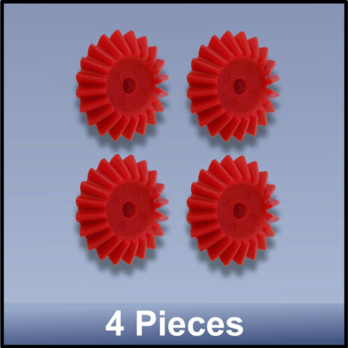 27 MM 20 TOOTH MODULE 1 BEVEL PRECISION MOULDED PUSH-FIT NYLON GEAR 4 pieces