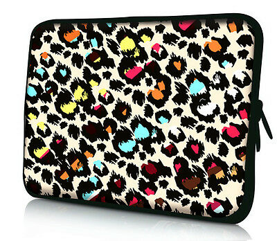 "Leopard 13"" Laptop Notebook Sleeve Bag Case For 13.3"" Apple Mac Macbook Pro, Air"