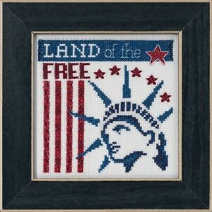 Mill-Hill-Patriotic-Quartet-Land-of-the-Free-Cross-Stitch-Kit-MH17-1912