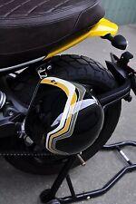 Ducati Scrambler 800 Helmet Lock Holder Black 2015 + Super Corse