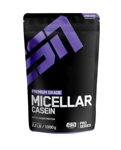 1000 g  hochwertiges Milchprotein 80/% Casein und 20/% Whey ESN Micellar Casein